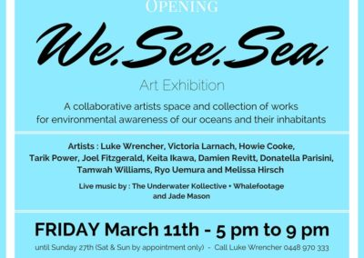 """ We See Sea "" Art Exhibition – Byron Bay"