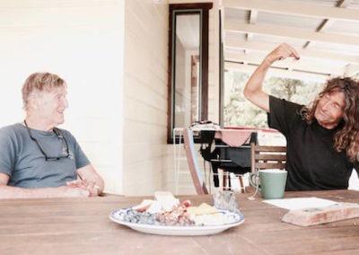 freundevonfreunden with Derek Hynd and Rusty Miller