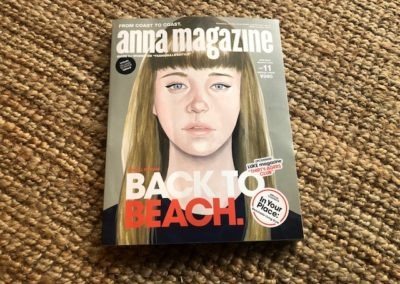 "Anna Magazine "" Back to Beach "" Byron Bay to Noosa"