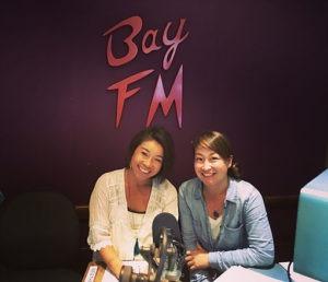 【お知らせ】コミュニティラジオBAY FMとヨガクラス、始めました。