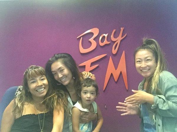 コミュニティラジオ BAY FM 1月23日放送の裏側:ゲスト ヨガ講師 飯塚エミさん