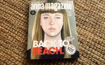 """【メディア掲載】雑誌 anna magazine """"Back to Beach """" バイロンベイ、ヌーサ特集!"""
